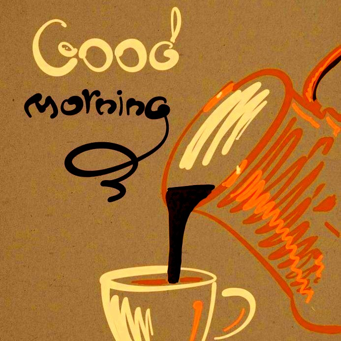 good morning coffee images and quote